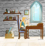 Zelda's Study room