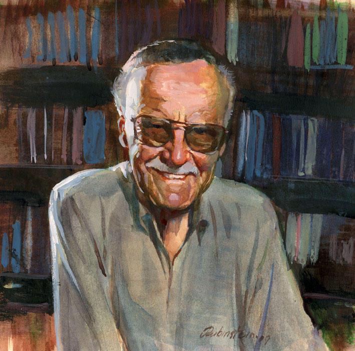Stan Lee by JoeComicBook