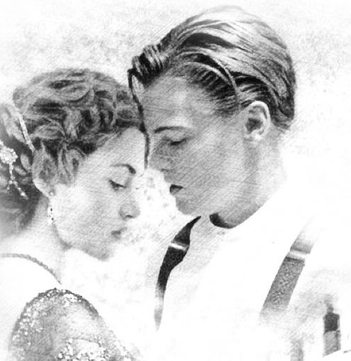 Titanic Movie Jack Drawing Rose Traffic Club