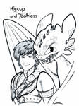 How To Train Your Dragon 2: Hiccup and Toothless