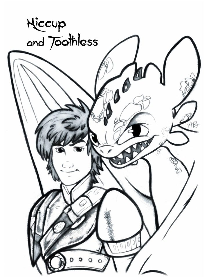 how to train your dragon comic hiccup and toothless