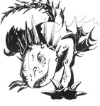 HTTYD Switch-Around: Stormfly (Lineart)