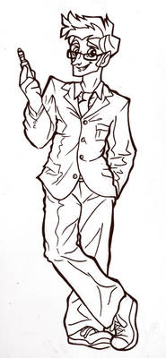 Tenth Doctor Inked
