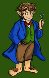 Bilbo, The Second-To-Last of the Time Lords by AlexandraBowmanArt