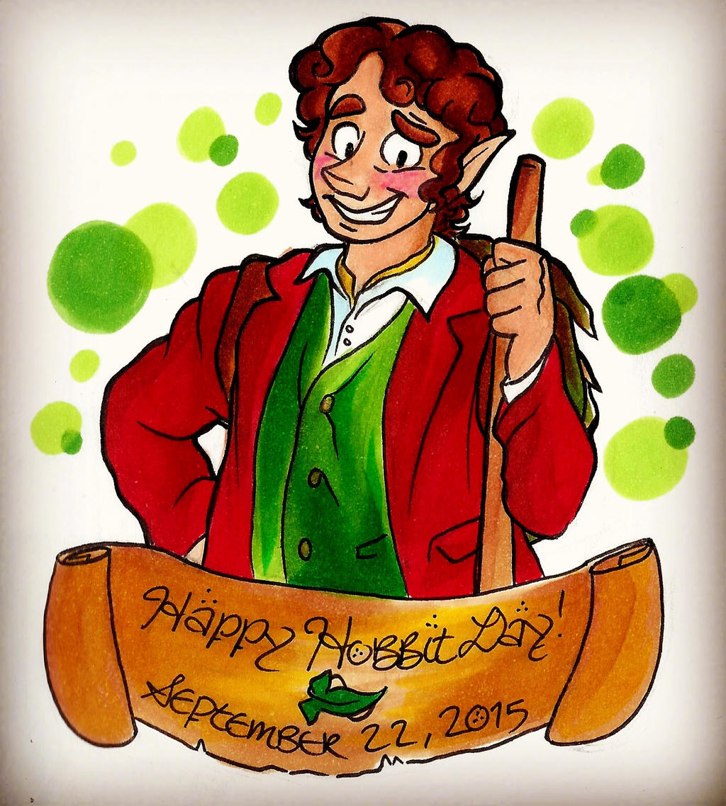 Happy Hobbit Day! by Alexbee1236