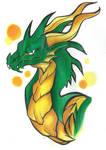 Dragon OC: Emerel