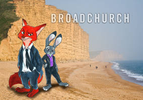 Zootopia/Broadchurch Crossover by AlexandraBowmanArt