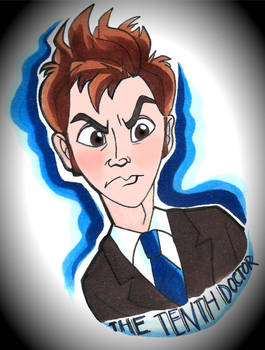 Tenth Doctor Doodle