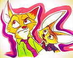 Nick and Finnick Doodle