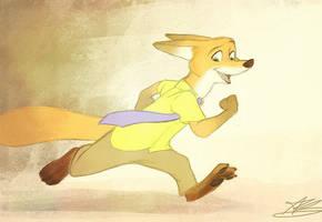Disney's 'Zootopia' by AlexandraBowmanArt
