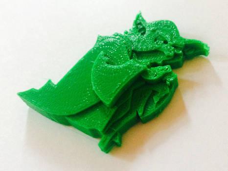 Yoda 3-D Print