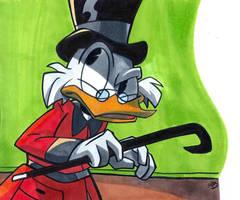 Scrooge McDuck by AlexandraBowmanArt