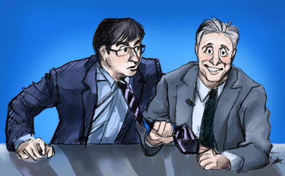 Jon and John