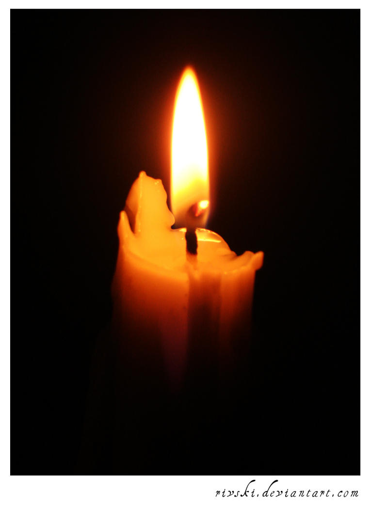candle in the dark - photo #47