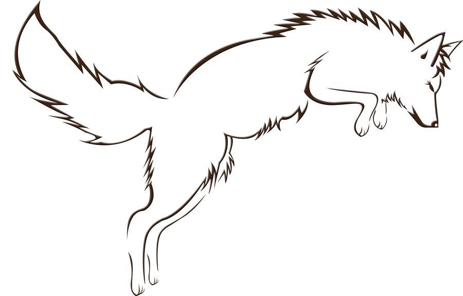 Fox tattoo by silver wolf studios on deviantart for Silver fox tattoo
