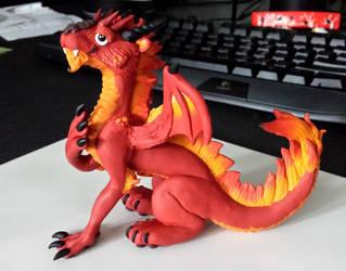Leo Flame Dragon by Sarzcoo