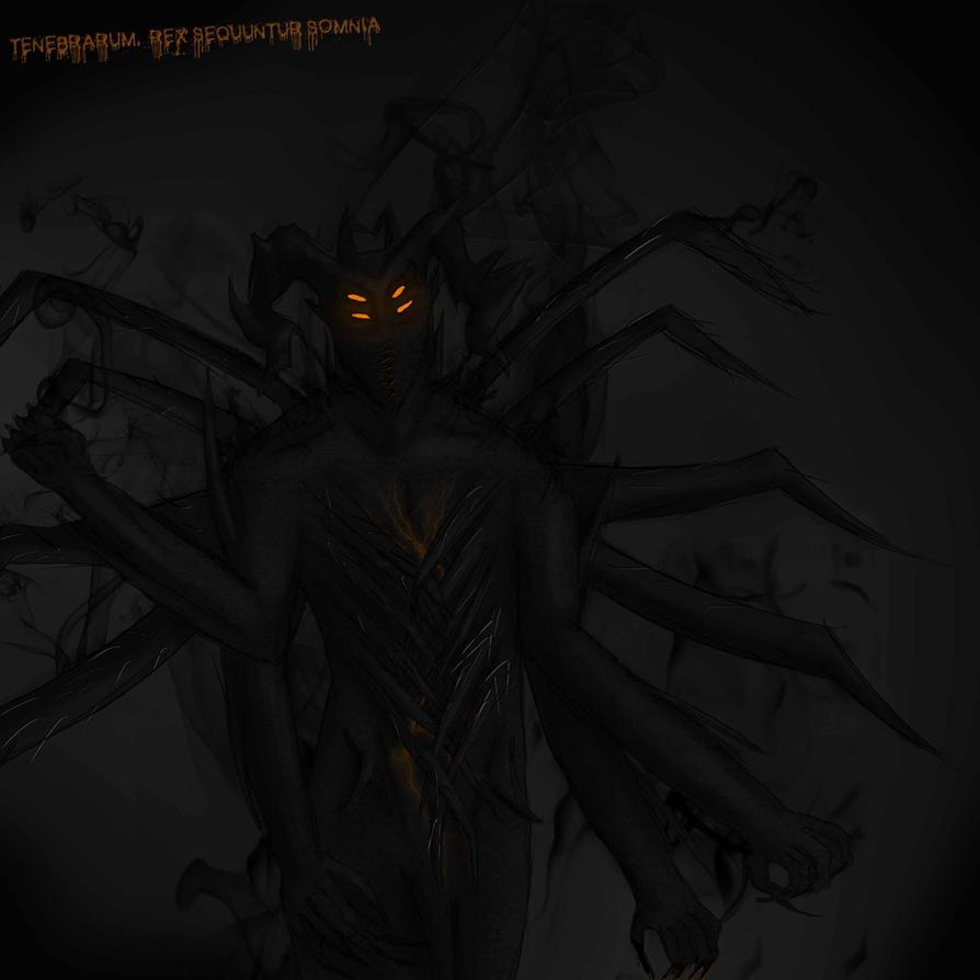 Tenebrarum, The king of Nightmares. by IvyDarkRose