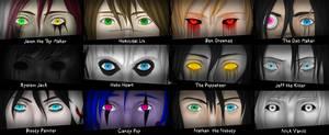 Creepypasta Eyes V.2