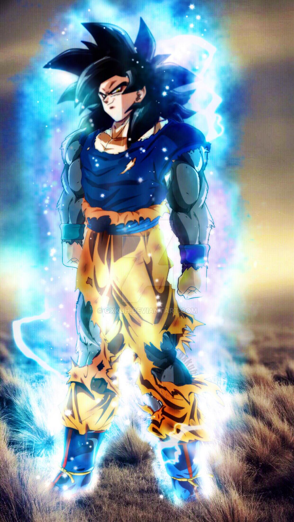 ultra Instinct (Ssj4 Goku) by gxkuh on DeviantArt