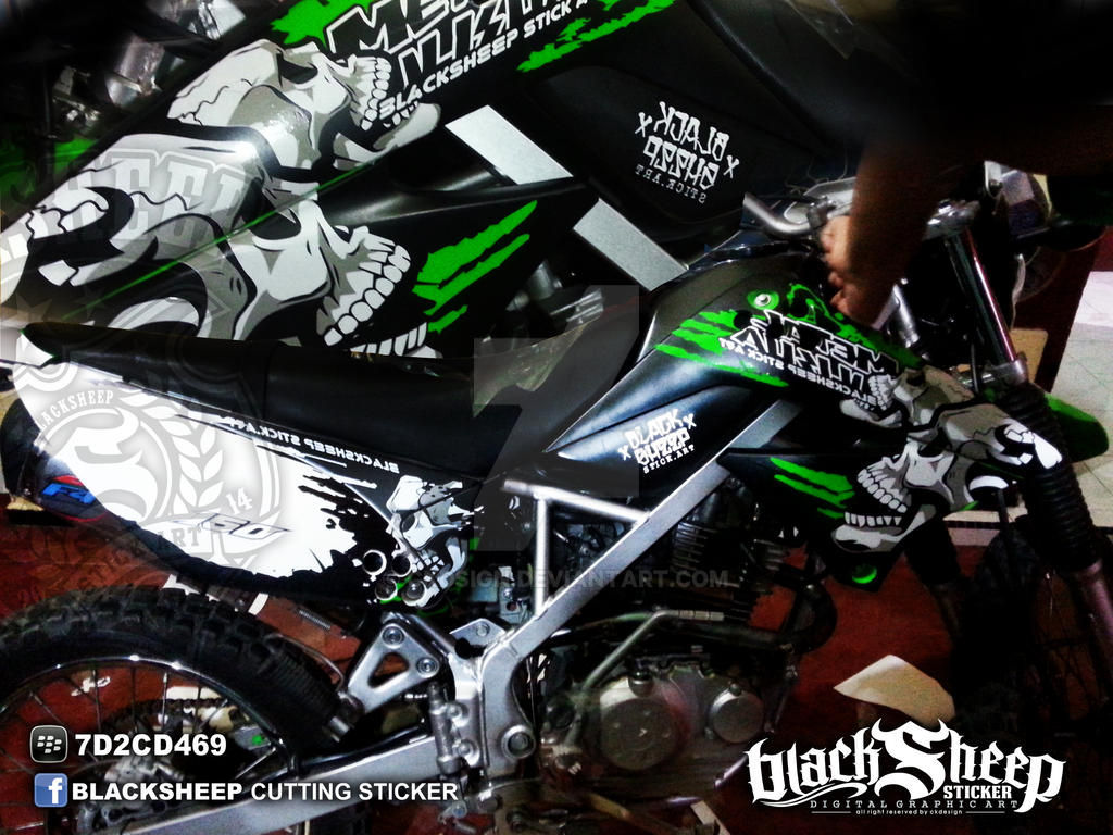Klx Metal Mulisha By Ckdsign