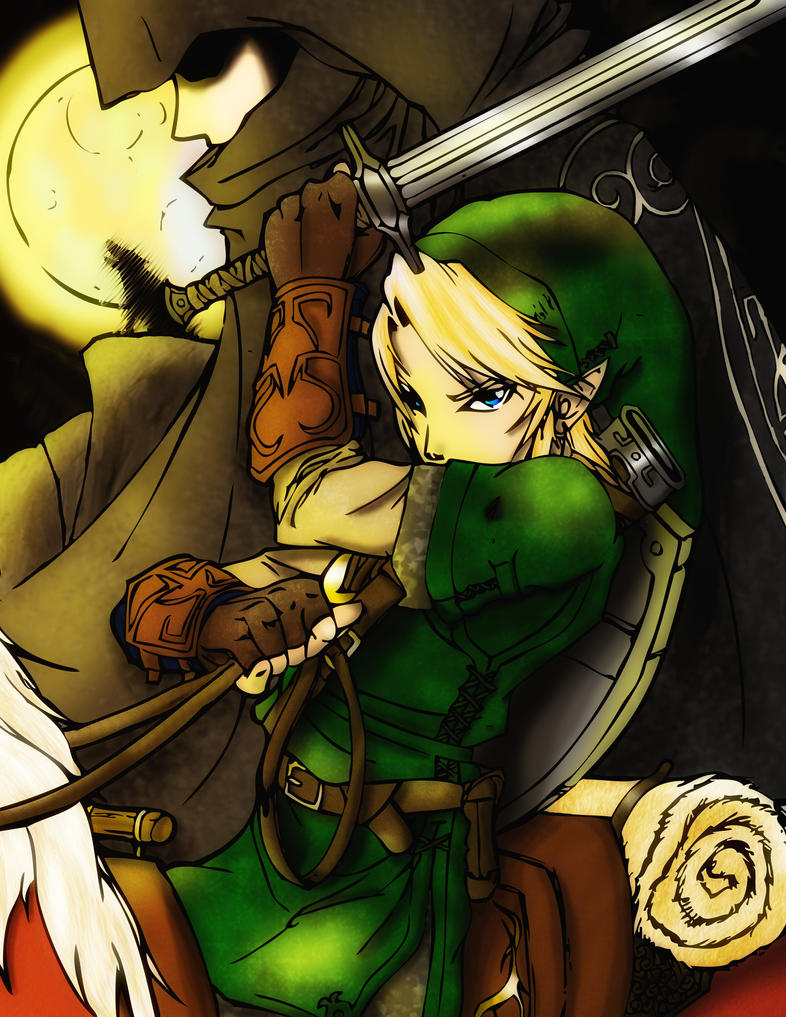 Link from Twilight Princess by tash360