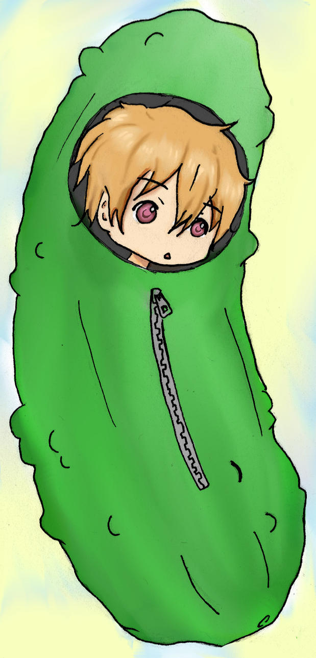 Nagisa Seems To Be In A Little Pickle. By Banana-gram On
