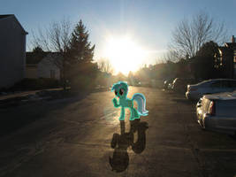 Lyra In My Parking Lot by statoose