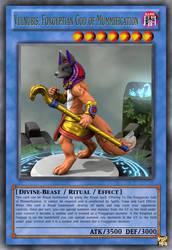 Vulnubis, Foxgyptian God of Mummification