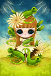 Iguanas by Zepollita