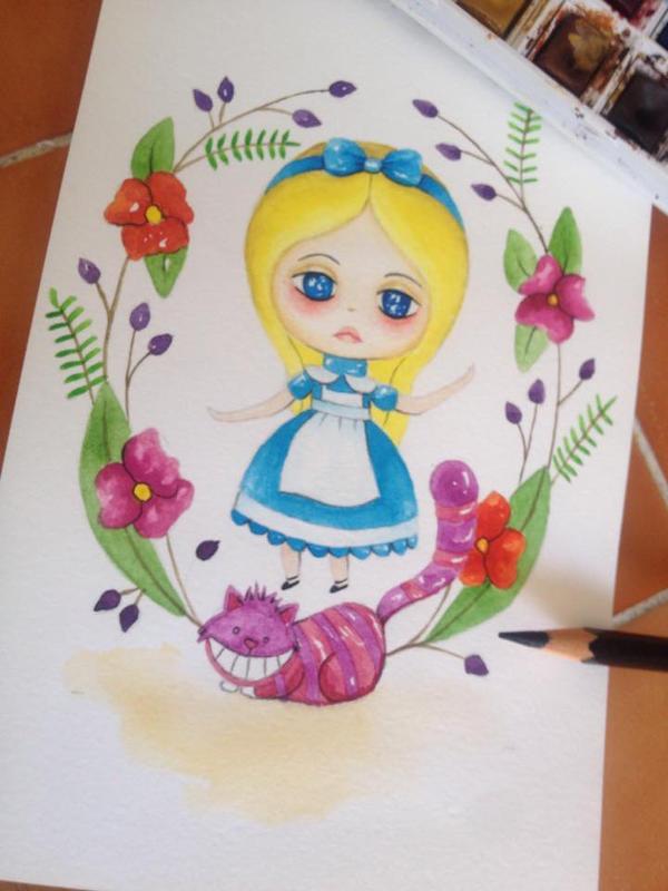 Alicia en el pais de las maravillas by Zepollita