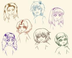 [ORIGINAL] Sketch practice by VivianDolls