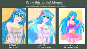 Draw this again Meme by VivianDolls