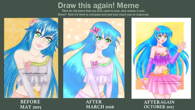 Draw this again Meme by VivianDolls