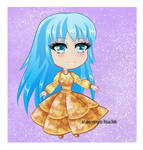[ORIGINAL] nameless chibi by VivianDolls