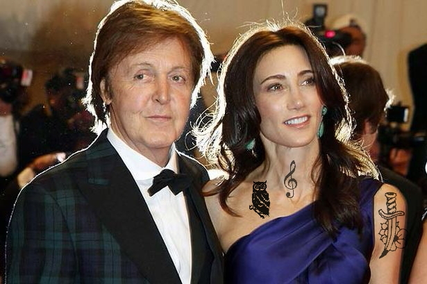 Paul McCartney And Hiz Wife Nancy Shevell By QueenofRandomness108