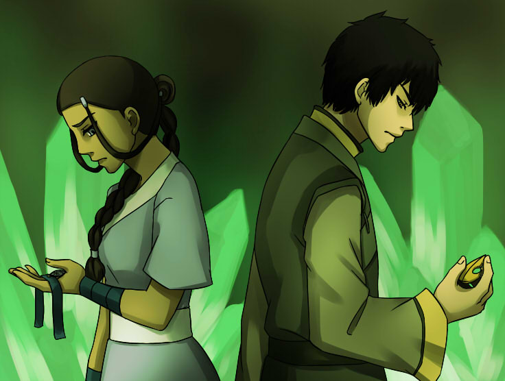 Zutara Month - Separate by beanaroony