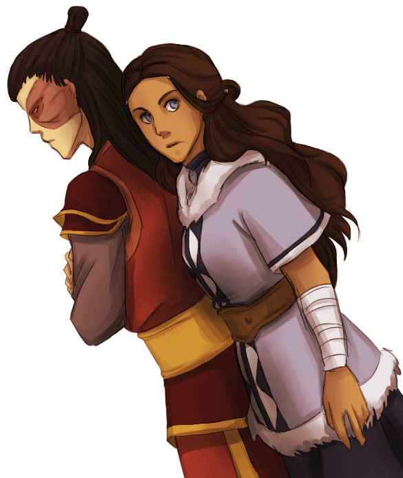 Older Zutara by beanaroony
