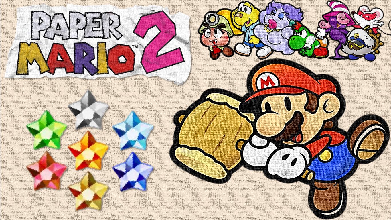 Paper Mario 2 Wallpaper By Dashyster On Deviantart