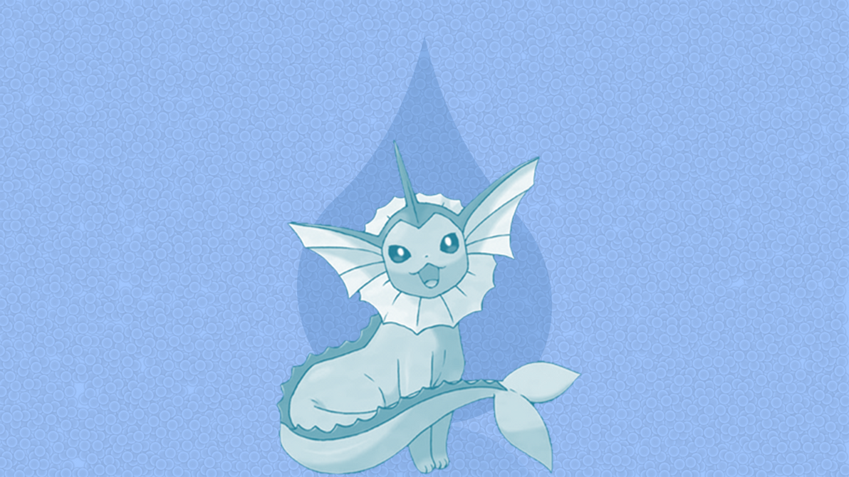 Vaporeon - Wallpaper by DaShyster