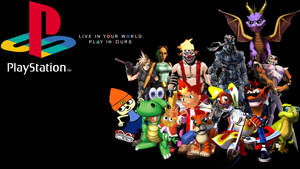 PS1 All-Stars - Wallpaper