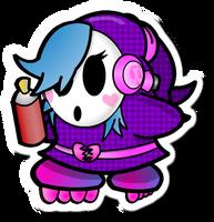 Shyanne (Paper Mario Fan Character)