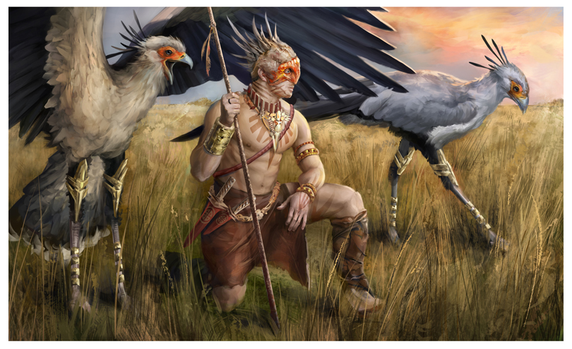 Bird Man by yefumm