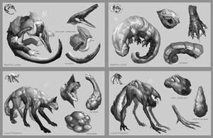 creatures by yefumm