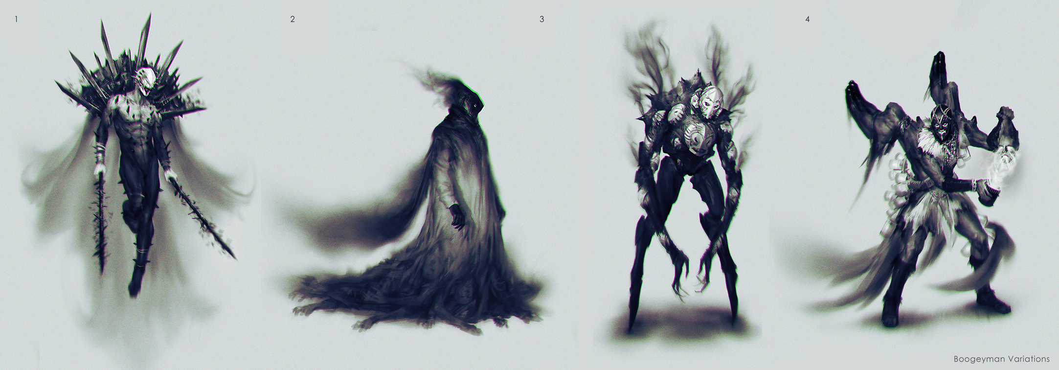 Boogeymen sketches by yefumm