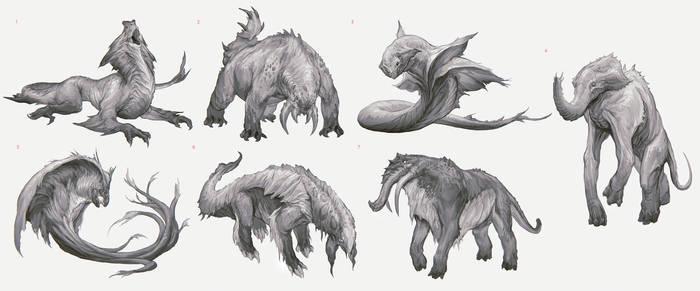 Grootslang Sketches