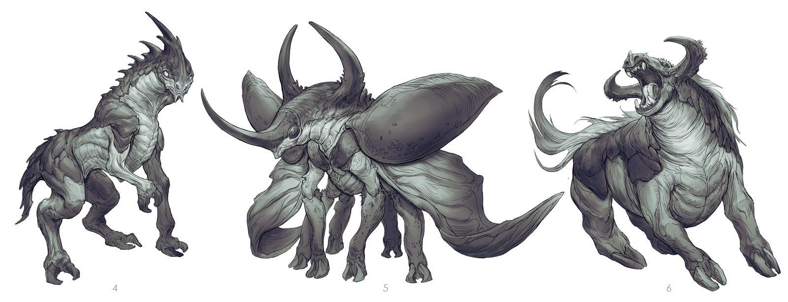 Horse/Hercules Beetle 2 by yefumm