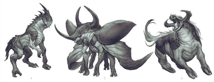 Horse/Hercules Beetle 2