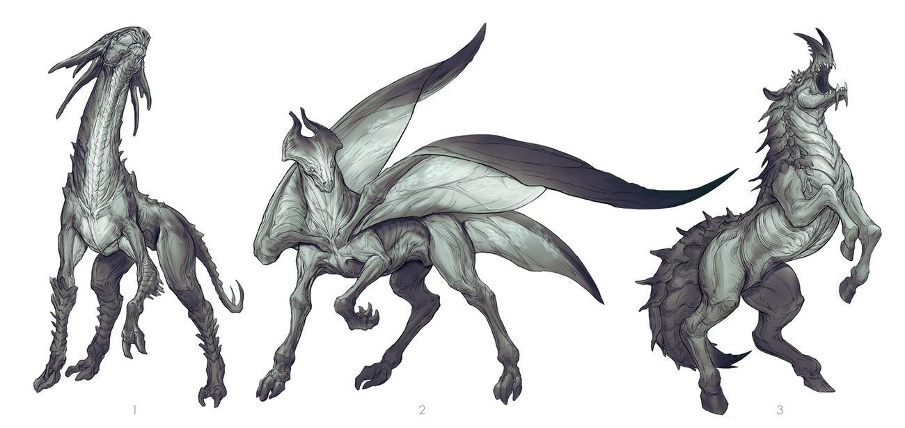 Horse/Hercules Beetle 1 by yefumm on DeviantArt