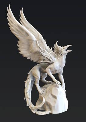Griffin Zbrush Sculpt