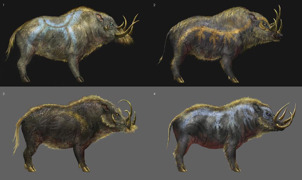 Boar Sketches 2 by yefumm